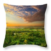The Distance Between Here And Now Throw Pillow