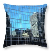 The Distortions, New York Throw Pillow