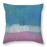 The Divine Field Of Lavender Throw Pillow