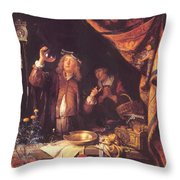 The Doctor Throw Pillow