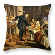 The Dole Throw Pillow by Jmes Lobley