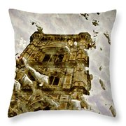 The Dome In The Puddle Throw Pillow