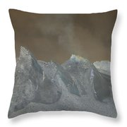 The Dome Of Mt St Helens Throw Pillow