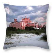 The Don Cesar Throw Pillow by David Lee Thompson