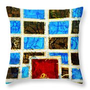 The Door And The Wall Throw Pillow
