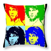 The Doors And Jimmy Throw Pillow