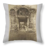 The Doorway First Venice Set Throw Pillow