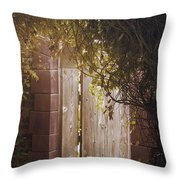 The Doorway Throw Pillow