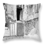 The Doorway To Darkness Throw Pillow
