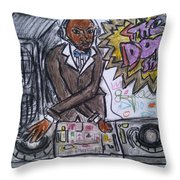 The Dope Show Throw Pillow