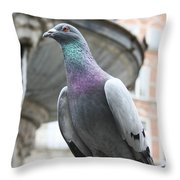The Dove 2 Throw Pillow