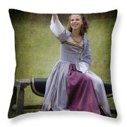 The Dove Throw Pillow