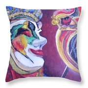 The Dr. Throw Pillow