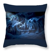 The Dragon And The Maiden Throw Pillow