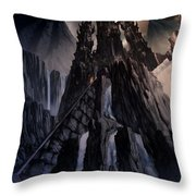 The Dragon Gate Throw Pillow