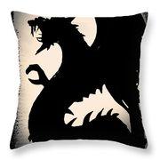 The Dragon Throw Pillow