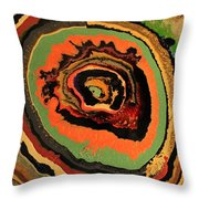 The Dragons Eye Throw Pillow