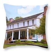The Drane House Throw Pillow