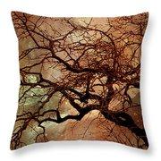 The Dream Oak Triptych Left Panel Throw Pillow
