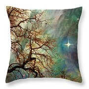 The Dream Oak Triptych Right Panel Throw Pillow