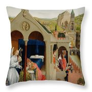 The Dream Of Pope Sergius  Throw Pillow