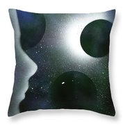 The Dream Of Space Throw Pillow