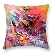 The Dream Of The Fish That Caried His House On His Back Throw Pillow