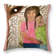 The Dreamcatcher Throw Pillow