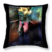 The Dreams Of Obama Throw Pillow