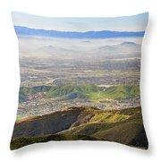 The Dreamy San Bernardino Throw Pillow