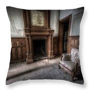 The Duchess Chair  Throw Pillow