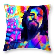 The Dude The Big Lebowski Jeff Bridges Throw Pillow
