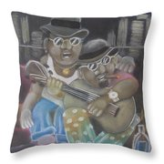 The Dudes Throw Pillow