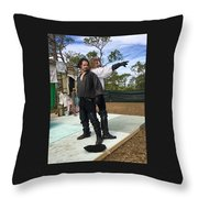 The Duelists Throw Pillow