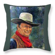 The Duke Throw Pillow