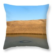 The Dunes Of Maspalomas 3 Throw Pillow