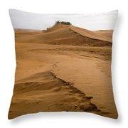 The Dunes Of Maspalomas 4 Throw Pillow