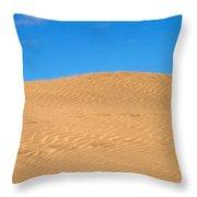 The Dunes Of Maspalomas Throw Pillow
