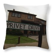 The Dursley's Throw Pillow