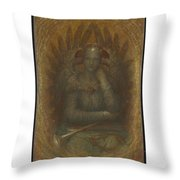 The Dweller In The Innermost Throw Pillow