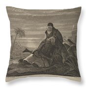 The Dying Greek Throw Pillow