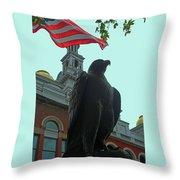 The Eagle 3 Throw Pillow