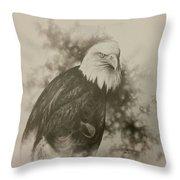The Eagle Throw Pillow