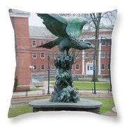 The Eagle - Widener University Throw Pillow