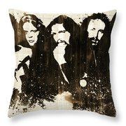 The Eagles Rustic Throw Pillow