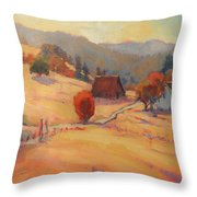 The East View Throw Pillow