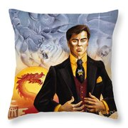 The Eastern King Throw Pillow