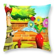 The Easy Way Out Throw Pillow