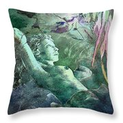 The Echidnas Throw Pillow