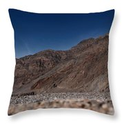 The Edge Of Death Valley Throw Pillow